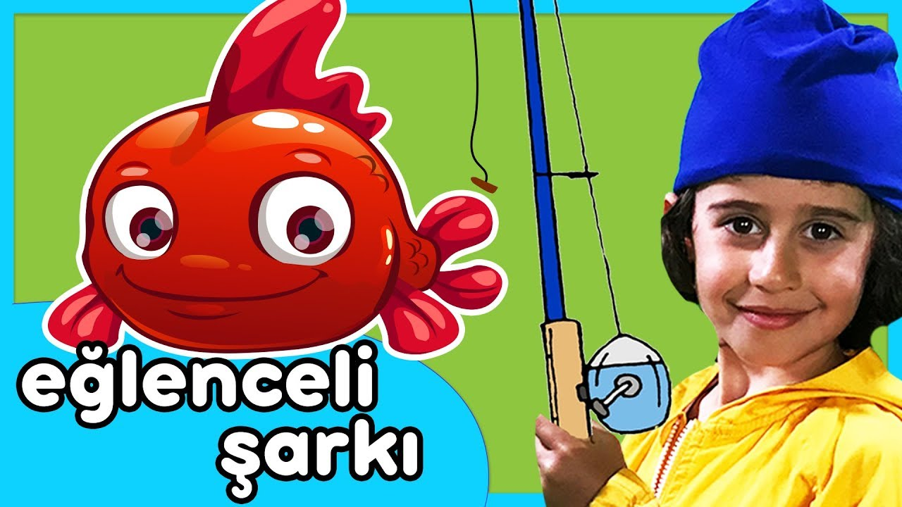 Kırmızı Balık - Eğlenceli Çocuk Şarkısı