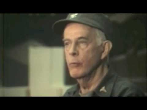 Rare footage of Col Potter (Harry Morgan) Part 1 MASH Final shoot news conference