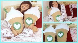 DIY Starbucks Pillow - DIY o Sew Pillow
