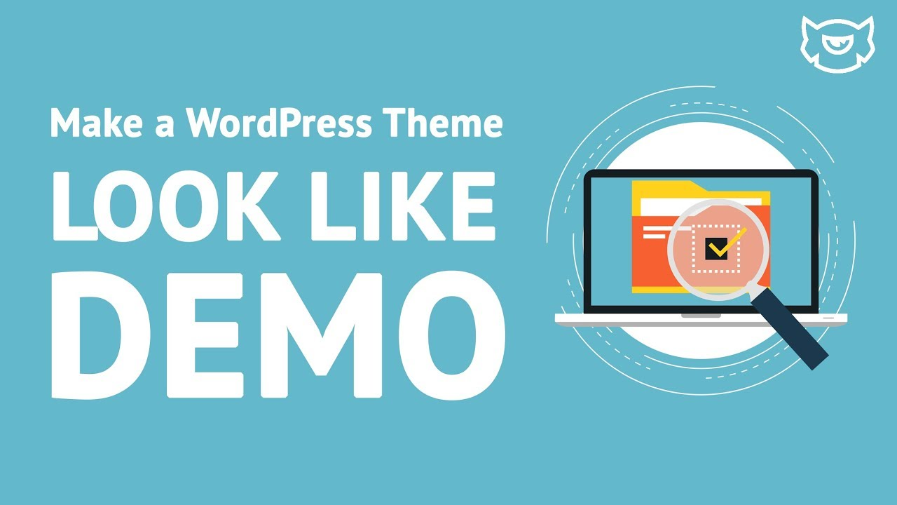 How To Make Your Website Look Like Wordpress Theme Demo Youtube
