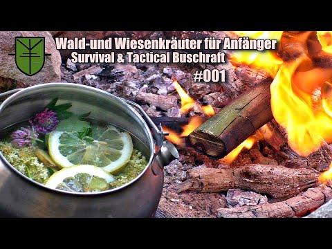 Wald & Wiesenkräuter für Bushcraft & Survival Tee - #001 Kräuter der Natur