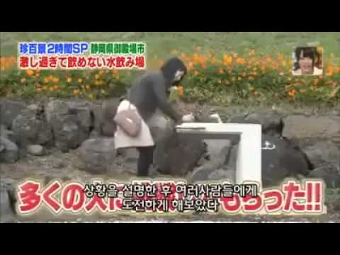 japanese water fountain prank