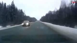 Смотреть всем! Дорожные аварии   Везунчики в шаге от с