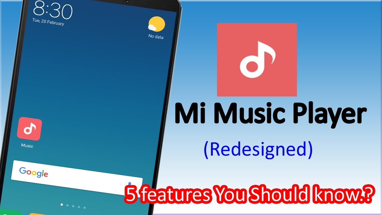 Mi Music Player  New Update 5 feature should you know  ? Redmi Note 4