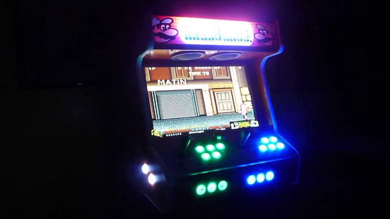 Beau 2 Player Bartop Arcade