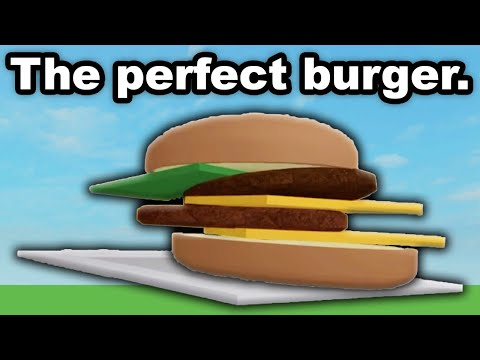 Roblox Cook Burgers is the PERFECT GAME  