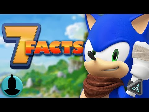 7 Facts About Sonic Boom! Cartoon Facts (Tooned Up S5 E16)