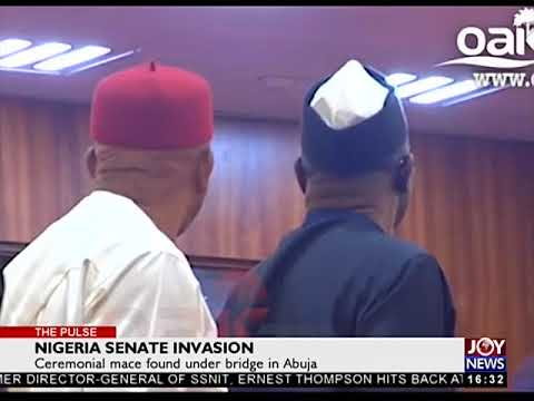 Nigeria Senate Invasion - The Pulse on JoyNews (19-4-18)