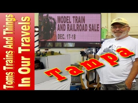 Model Train Show - Tampa Dec 18 2016  👍👍🚂