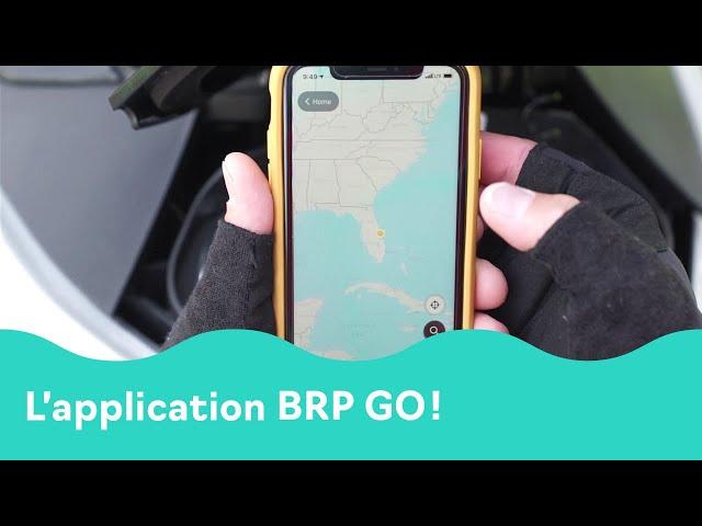 L'application Sea-Doo BRP Go!
