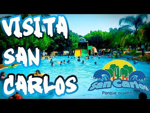SAN CARLOS PARQUE ACUÁTICO *un lugar maravilloso* VISITALO!!!