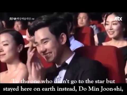 [ENG SUB] Jun Ji Hyun calls out 'Do Min Joon' during her speech at 50th Baeksang Arts Awards (cut)