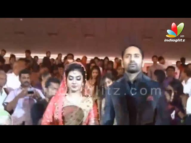 Fahad Nazriya Wedding Reception  EXCLUSIVE | Mammotty,Fazil, Kavya Madhavan