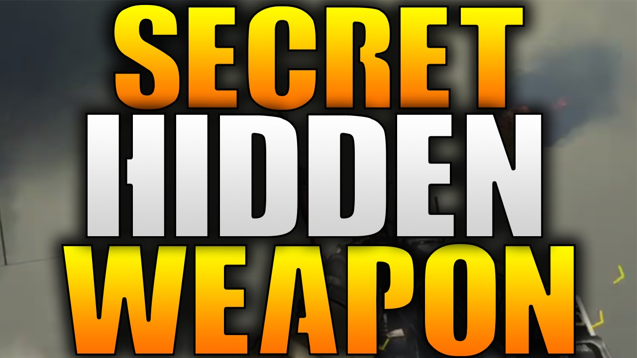Advanced Warfare HIDDEN WEAPON FOUND IN AW!  Secret RPG