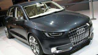 Audi A1 Sportback Concept Videos