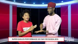 SPORTS WITH PUNJAH: SPORTS GIST; Make we gist unto Super Eagles first game for Russia World Cup