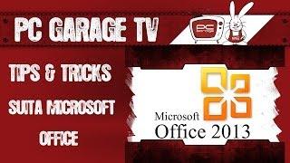 PC Garage TV - Tips and tricks Suita Microsoft Office Word - partea 1