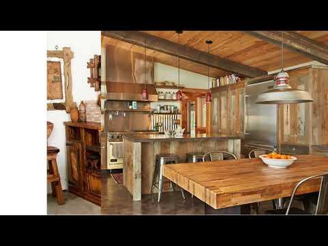 Ideas de decoraci�n para cocinas r�sticas