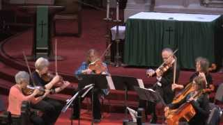 Temescal String Quartet with Paul & Victoria Ehrlich perform: String Sextet in D minor Op.70 Mvt III Thumbnail