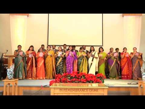 Telugu Christian Songs - Christmas Santasa Christmas- UECF Choir - 2012 Christmas