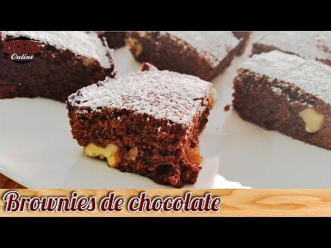 Los mejores Brownies de chocolate del mundo