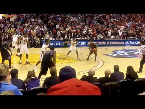 Isaiah Thomas Buzzer Beater, University of Washington Pac 10 Basketball Champions