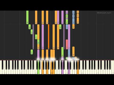 Sam Smith - I'm Not the Only One [Ver.2] (Instrumental Tutorial) [Synthesia]