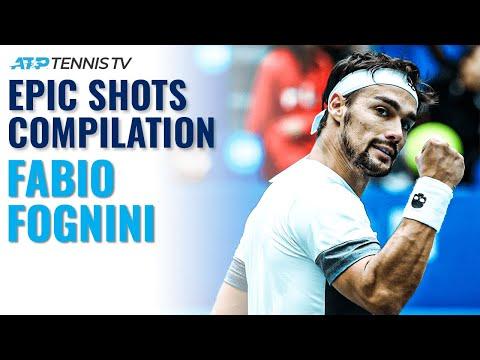Ultimate Fabio Fognini Epic Shots Compilation! 🤯