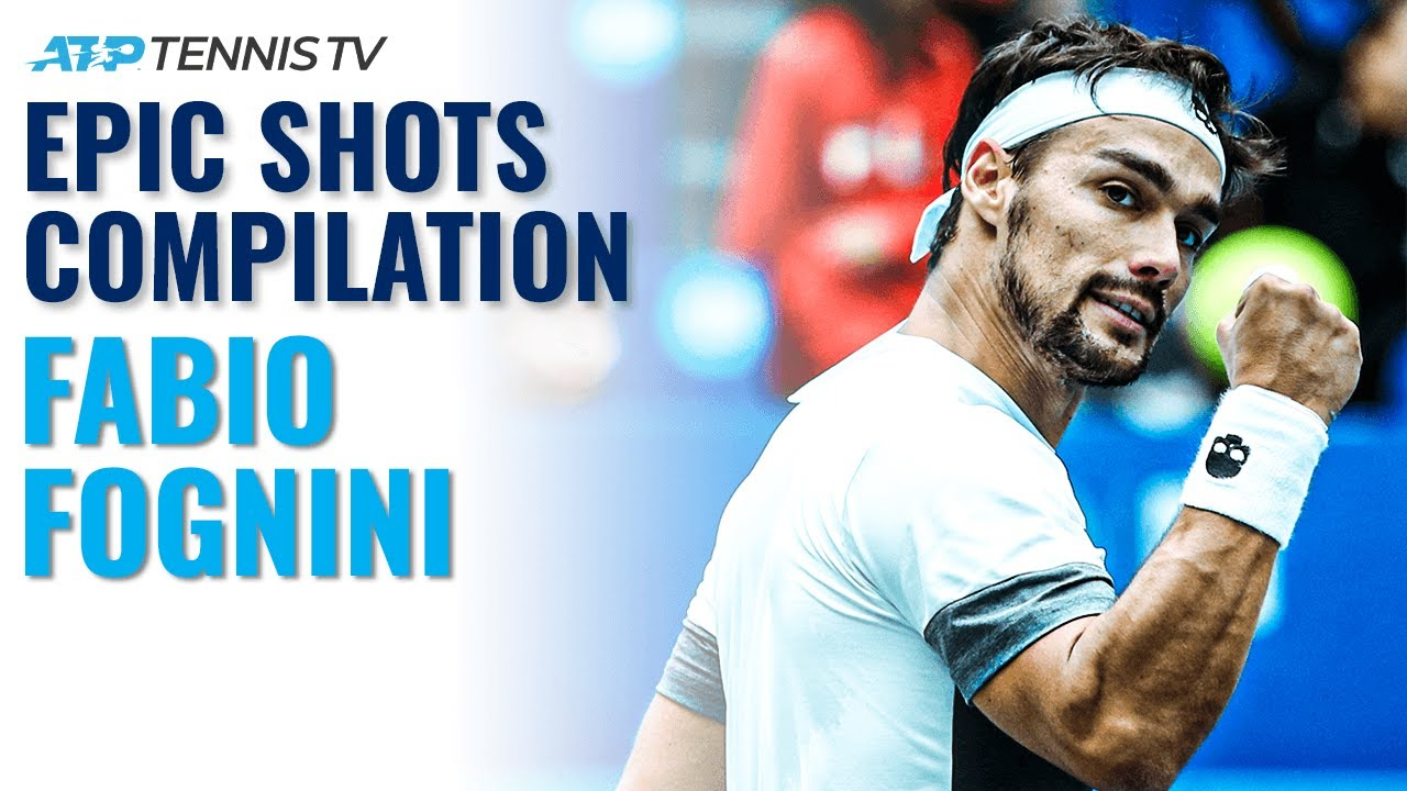 Ultimate Fabio Fognini Epic Shots Compilation!