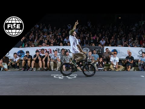 FISE Budapest 2017: BMX Freestyle Flat Pro Final - REPLAY