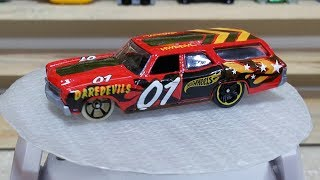 Chevelle SS Wagon HW DAREDEVILS 1/5 | Hero Cars 2018 - Unboxing & Review