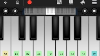 perfect piano:lmn nchki hali لمن نشكي حالي سعد لمجرد