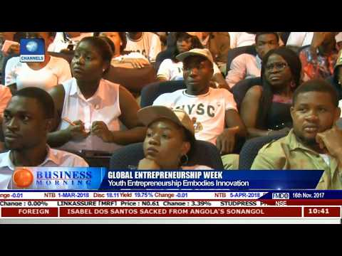 Channels Media Group Chairman On Youth Innovation Pt.1 |Business Morning|