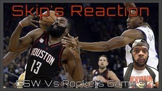🚨 GSW vs Rockets Game 3 REACTION Fam!!! 🚨