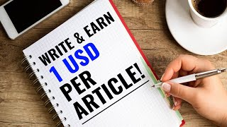 Get REAL CASH $1 per Article! With PROOF!