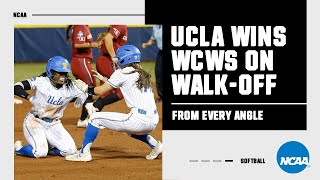 UCLA's 2019 WCWS walk-off hit, from every possible angle