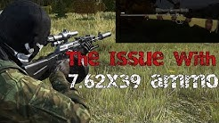 DayZ: The issue with 7.62x39 ammo