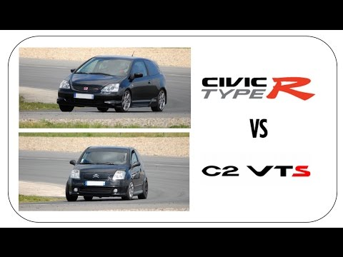 honda civic ep3 vs citro n c2 vts fontenay le comte racing west 4k youtube. Black Bedroom Furniture Sets. Home Design Ideas