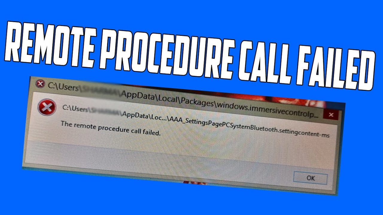 """How to Fix """"The Remote Procedure Call Failed"""" Problem in Windows [Solved]"""
