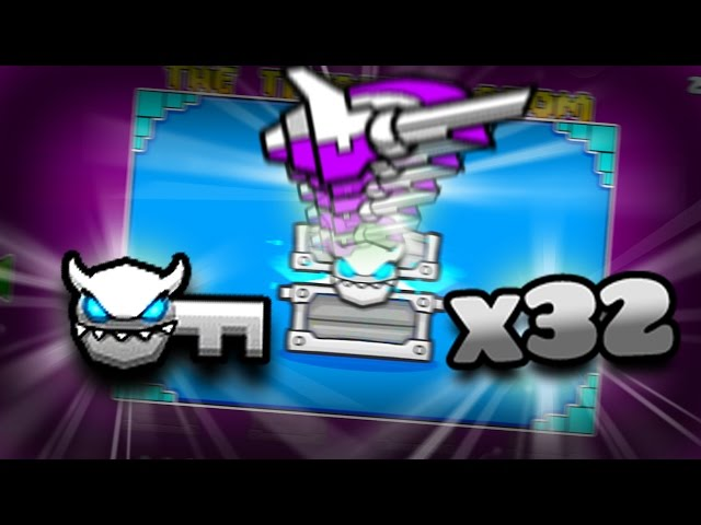 AMAZING ICONS!!!! | Opening 36 Geometry Dash treasure room chests