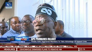 Download Video Tinubu Asks Aggrieved Members To Take Advantage Of Appeal Cmte MP3 3GP MP4