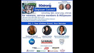 10.1 50strong Employer Connect: Procter & Gamble, U-Haul, Mayo Clinic