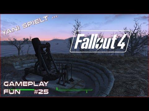 Yani spielt...Fallout 4 #25 - Alte Waffen [Gameplay German Deutsch]