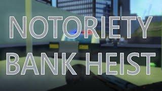 Notoriedade banco Heist | | Roblox notoriedade