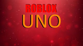 Playing ROBLOX Uno 😃😃 w/ Guest