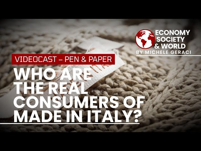 Who are the real consumers of Made in Italy?