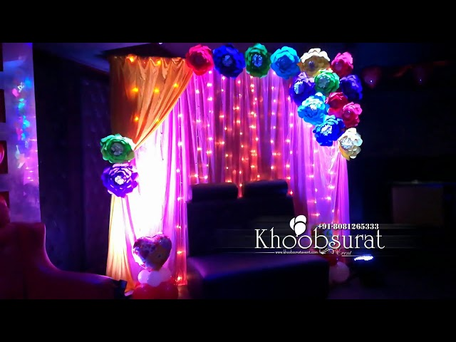 anniversary &  engagement  decoration by khoobsurat event