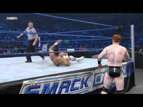 Sheamus Vs Jinder Mahal Smackdown 13.01.2012
