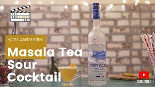 Masala Tea Sour | The BarTrender Tube