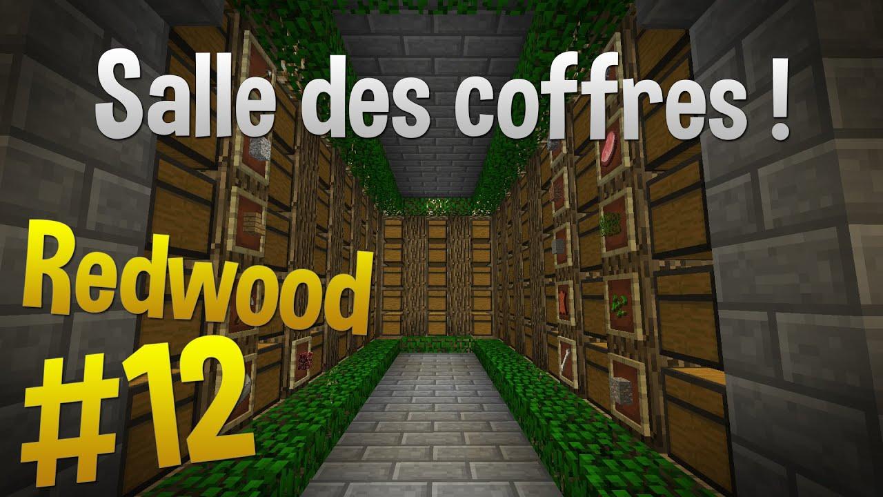 salle des coffres episode 12 serveur redwood minecraft youtube. Black Bedroom Furniture Sets. Home Design Ideas